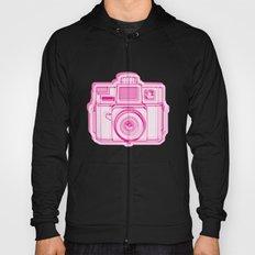 I Still Shoot Film Holga Logo - Reversed Pink Hoody