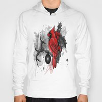 cardinal Hoodies featuring Cardinal. by SynthiaManson