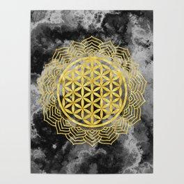 Flower Of Life (Batik 10) Poster
