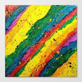 Rainbow Abstract #11 Canvas Print