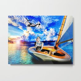 Dawn-Treader Metal Print