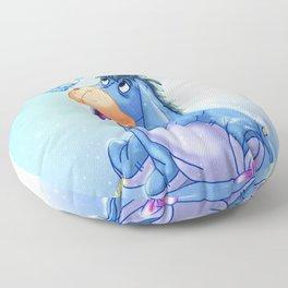 Dibujo de Igor, Amigo de Winnie Pooh 1 Floor Pillow