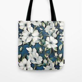 Summer Linen Tote Bag