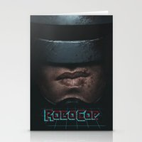robocop Stationery Cards featuring RoboCop by yurishwedoff