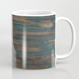 Beautifully patterned stained wood Coffee Mug