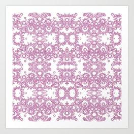 Gothic Lace Mystique Art Print
