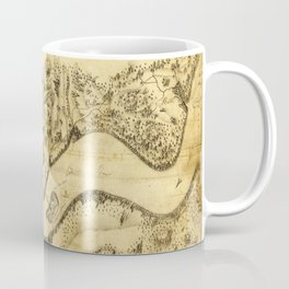 Original West Point Survey Map October 24th-27th 1783 Coffee Mug