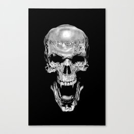 Vampire Runed Skull Canvas Print