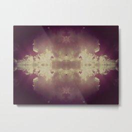 Fluffy Violet Metal Print