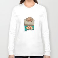 mexico Long Sleeve T-shirts featuring New Mexico by Big Purple Glasses