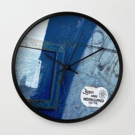 Urban Abstract 115 Wall Clock
