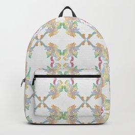 Elephants Pattern Backpack