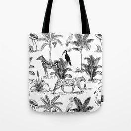 botanical jungle Tote Bag