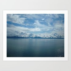INSIDE PASSAGE Art Print