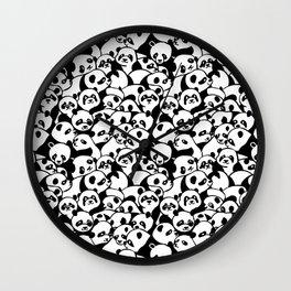 Oh Panda Wall Clock