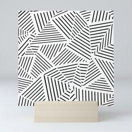 Ab Linear Zoom W Mini Art Print