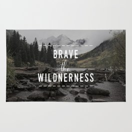 Brave the Wilderness Rug