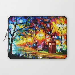 Tardis Dr Who Laptop Sleeve