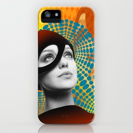 Supermodel Donna 2 - Supermodels of the Sixties Series iPhone Case