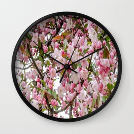 Tree in Blossom Wall Clock