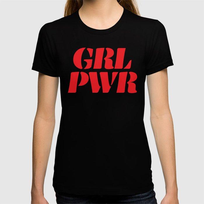 Girl Power GRL PWR T-shirt