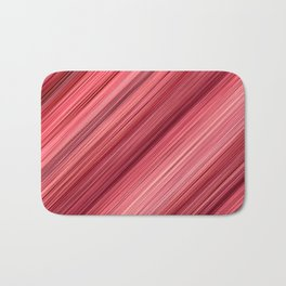 Ambient 33 in Red Bath Mat