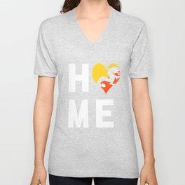 Bhutan Is My Home T Shirt Unisex V-Neck