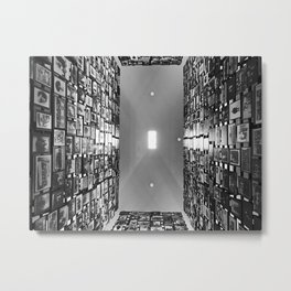 Looking Towards the Light Metal Print