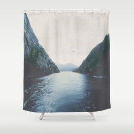 silence II Shower Curtain