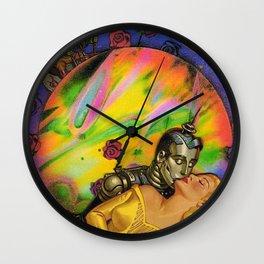Cyber Romance  Wall Clock