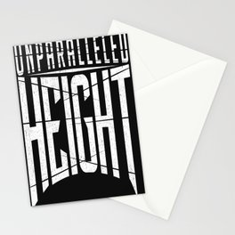 Unparalleled Height Logo Stationery Cards