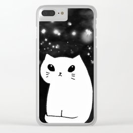 cats-424 Clear iPhone Case