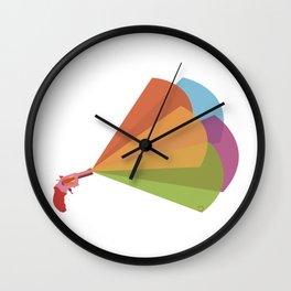 REVOLVER SURPRISE Wall Clock
