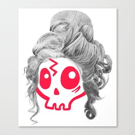 Wendy the Wig Canvas Print