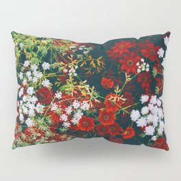 The Flower Bed (Color) Pillow Sham