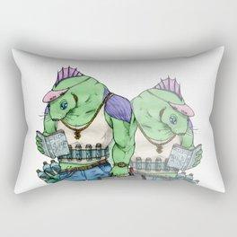 Ben Lizard Rectangular Pillow