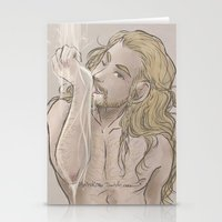 fili Stationery Cards featuring Milky Fili by ScottyTheCat