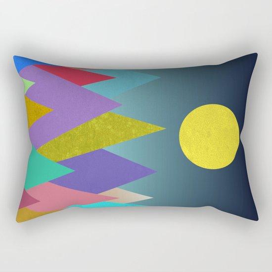 Abstract #443 Rectangular Pillow