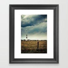 Lighthouse of Kampen Framed Art Print