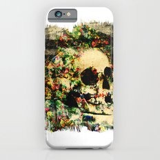 floral skully 2 Slim Case iPhone 6s