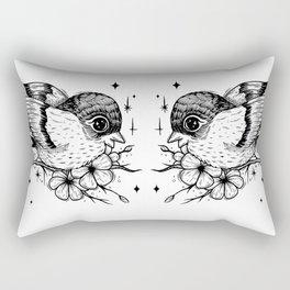 Birb Rectangular Pillow