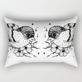 Birb Rectangular Pillow