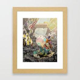 Not Alone Framed Art Print