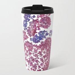 AJISAI FLOWER Metal Travel Mug