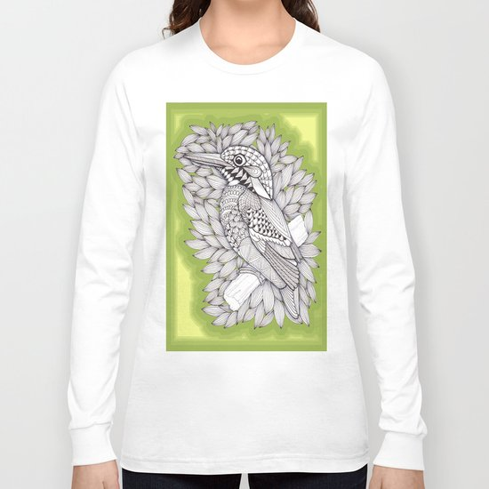Zentangle Halcyon Long Sleeve T-shirt