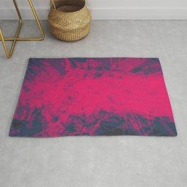 Shattered Purple Rug
