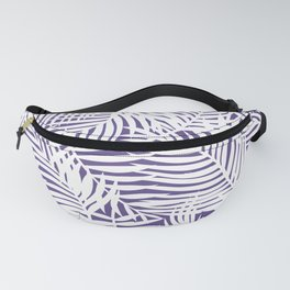 Bright Tropical Island Ultra Violet Fanny Pack