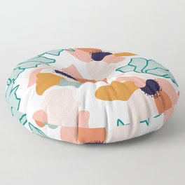 Carmella #illustration #pattern Floor Pillow