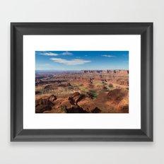 Colorado Below Framed Art Print