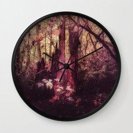 Faerie Throne Wall Clock